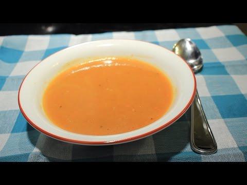 Rustic Butternut Squash Soup Recipe ~ Easy & Delicious
