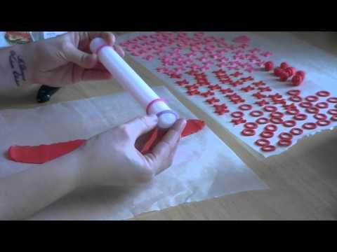 How to Make a Fondant Ribbon Rose