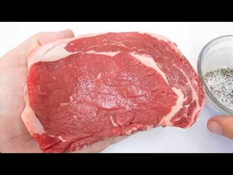 Grilling Ribeye Steak - Seasoning, Cooking time and Temperature - PoorMansGourmet