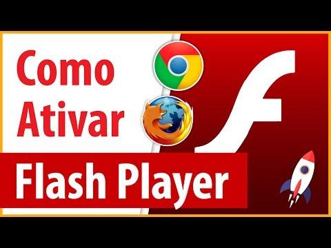 Como Ativar Adobe Flash Player no Google Chrome/Mozilla Firefox 2017/2018 no PC Windows Atualizado