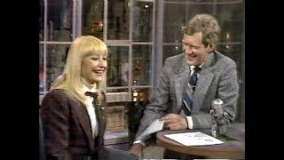 Raffaella Carrà on Late Night, March 10, 1986