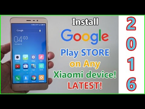Install Google Play Store on any Xiaomi Device with MIUI 7! Works on MIUI 10 as well!