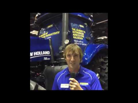 Live in New Holland Booth at #TransformFFA