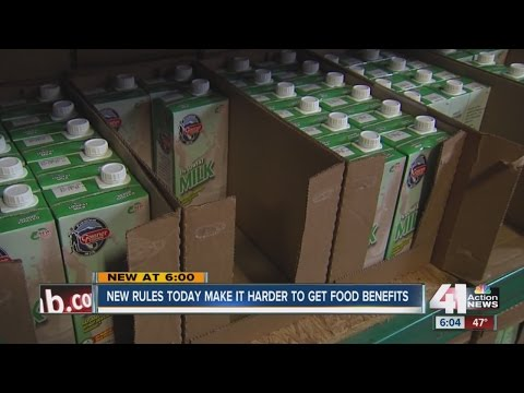 30,000 lose SNAP benefits due to new legislation