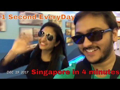 My Singapore Trip in 4 min !