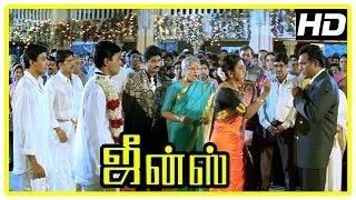 Jeans Movie Climax | Prashanth - Aishwarya get married | Nassar | Raadhika | End Credits
