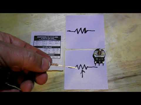 Beginners Electronics ~ Understanding The Resistor and Potentiometer