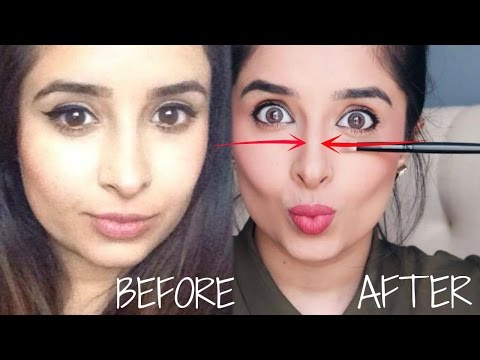 Contour Your Nose Like A Pro! | A Smaller Thinner Nose Without Plastic Surgery