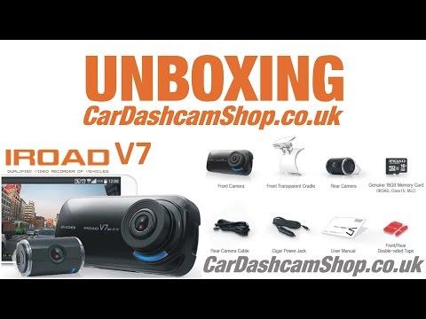 IROAD V7 UNBOXING CarDashcamShop.co.uk