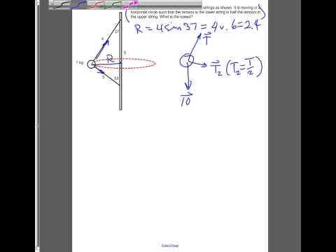 modified conical pendulum