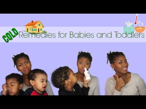 Cold remedies for Babies and Toddlers | Nasal Congestion | Essential oils
