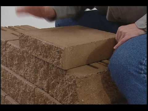 10 - Capping - Mosaic Retaining Wall Installation