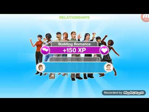 Sims freeplay Part 8 - Aging the preteens to teens + teen love