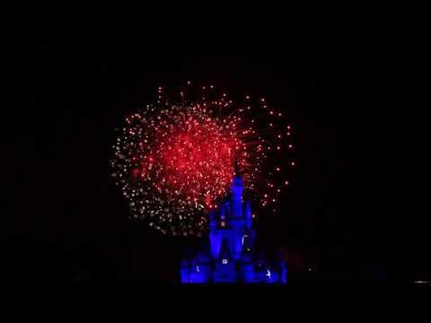 Magic Kingdom Wishes Fireworks Walt Disney World