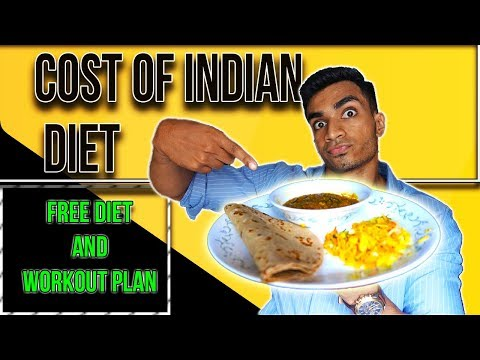 Cost Of Healthy Dieting In India | FREE Meal Plan & Workout Plan | All You Need To Know