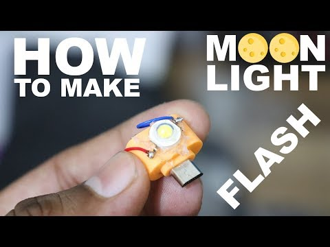 How To Make Moon Light Selfie flash Light for Any android Mobile phone