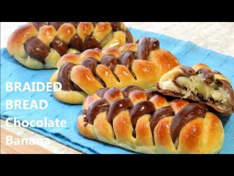 BRAIDED BREAD RECIPE - Chocolate Banana
