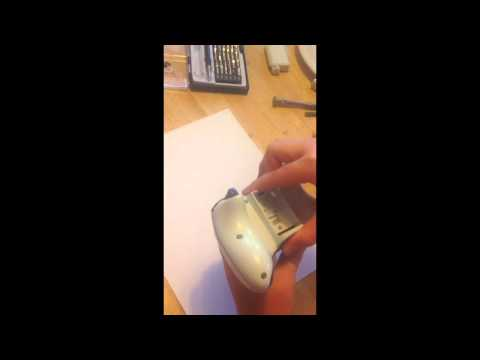 How to disassemble a Xbox 360 controller