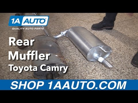 How to Replace Install Muffler 1998 Toyota Camry Buy Quality Auto Parts from 1AAuto.com