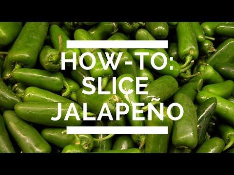 How-To: Slice Jalapeño