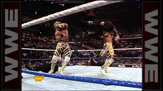 A miscommunication between The Rockers brings tension towards their team: Survivor Series 1991