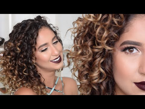 How To Refresh & Restyle Your Curls + Maintaining Overnight Curls (Sleep Method)