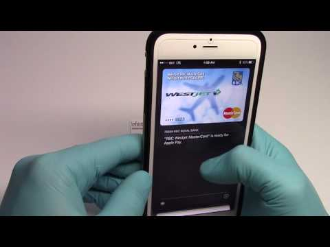 How to use Apple Pay Quickly from the lock screen.