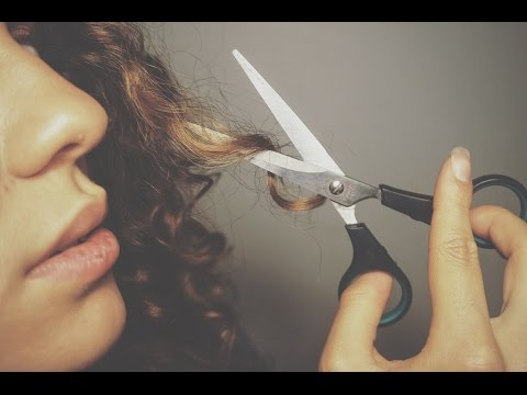How to   Cut curly hair at home