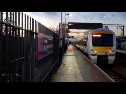 A Journey from Rainham to London Fenchurch Street 14/1/17 :)