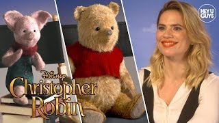 Hayley Atwell & Jim Cummings talk Pooh and all things Christopher Robin!