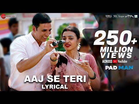 Xxx Mp4 Aaj Se Teri Lyrical Padman Akshay Kumar Amp Radhika Apte Arijit Singh Amit Trivedi 3gp Sex