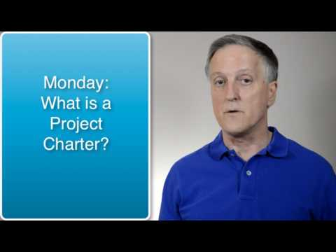 How to Develop a Project Charter Series