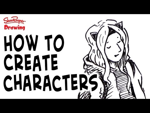 How to create characters for illustrations