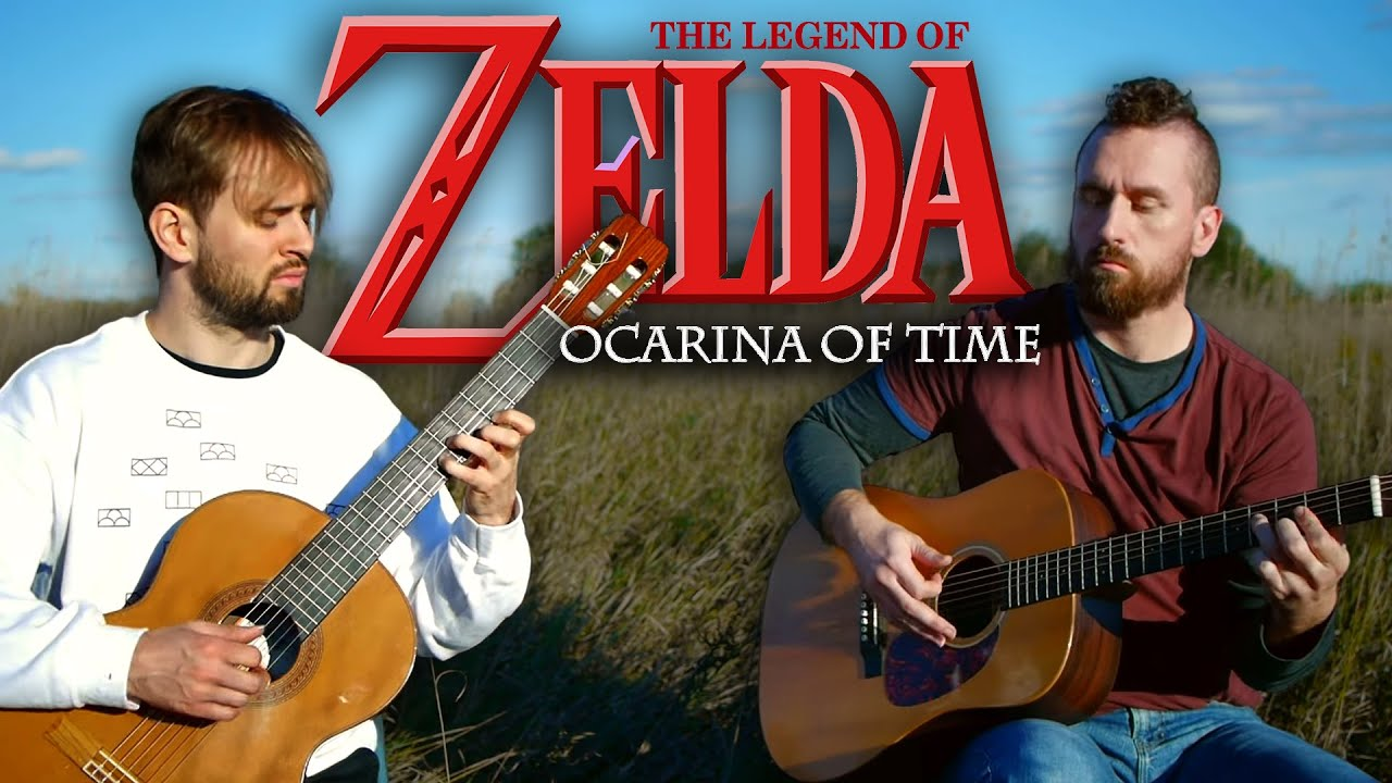 Zelda Ocarina of Time - MASSIVE MEDLEY! - Super Guitar Bros