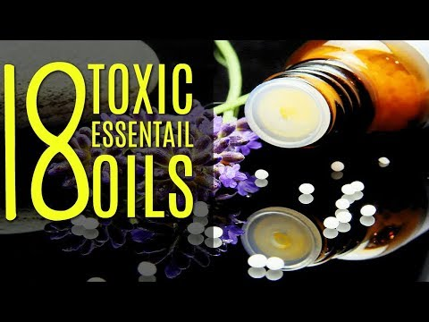 18  Most Toxic Essential Oils | Dangerous To Inhale DO NOT DIFFUSE