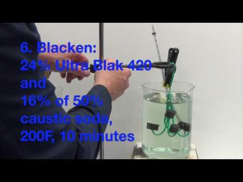 Ultra-Blak 420: Black Oxide for Copper/Brass