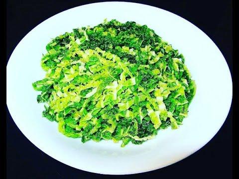 Best Stir Fried Cabbage  Recipe In English