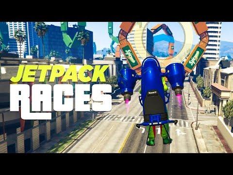 JETPACK RACES - Grand Theft Auto Online