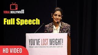 Sridevi Full Speech At
