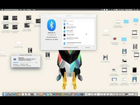 how to send file to another mac over bluetooth (without wifi)?