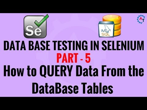 5. How to READ or QUERY Data From the  DataBase Tables - MySql