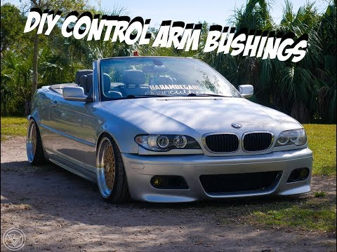 How to install e46 control arm bushings