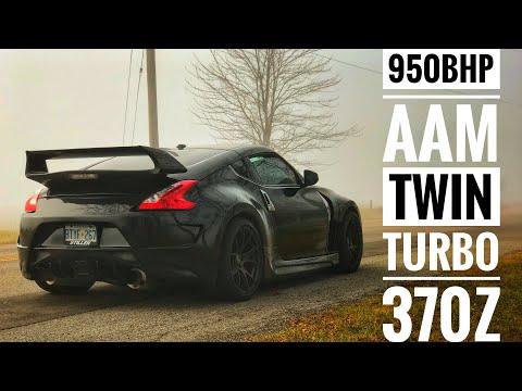 Nissan 370Z Twin Turbo | 950BHP | GTR Killer? Stillen-AAM Tuned 700WHP
