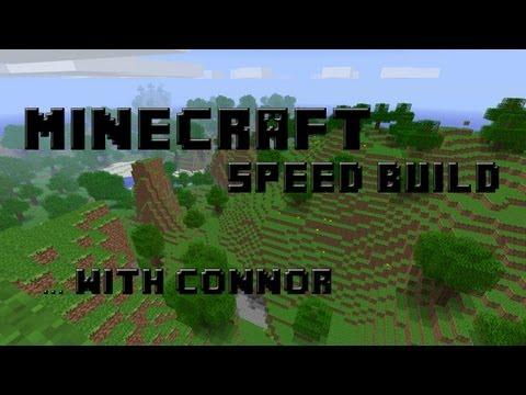 Minecraft Speed Build - Hobbit House - Episode 1 - Part 1 Construction