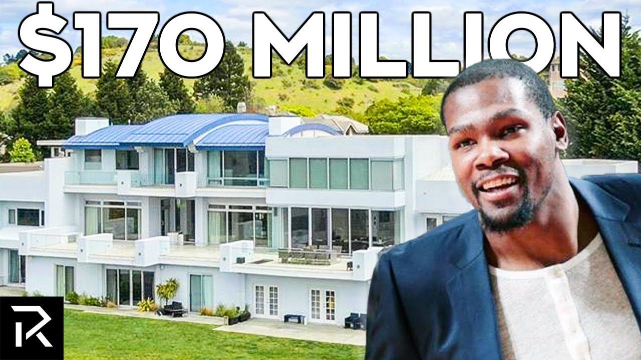 How Kevin Durant Spent $170 Million