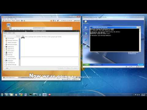 Linux Centos 6 - Set up FTP Server for local accounts using GUI (Gnome)