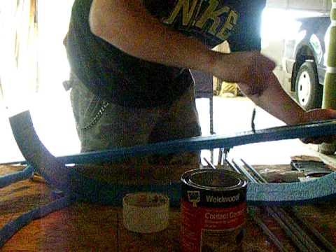 How to make a LARP sword part 2