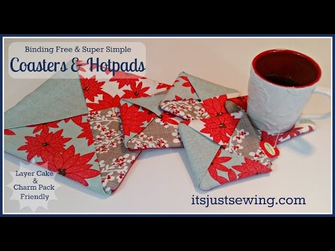 How to make coasters and hotpads
