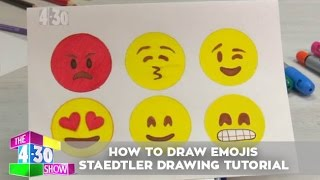 Emojis - Staedtler Drawing Tutorial