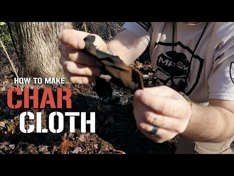 How To Make Char Cloth - DIY Emergency Fire Starter